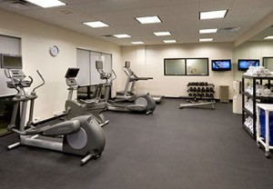 Springhill Suites workout facility