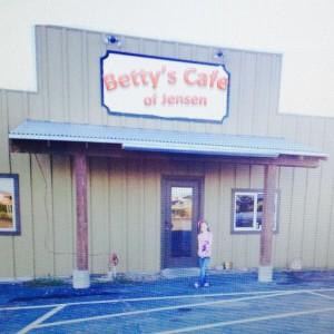 Betty's Cafe of Jensen