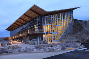 outside view of Dinosaur National Monument