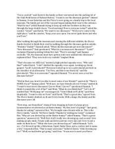 Dinosaur Story Page 1